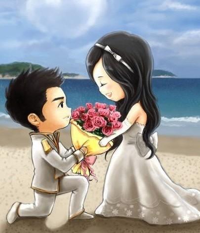 Will you marry me? Maukah kamu menikah denganku? Bersediakah Aku menikah denganku?